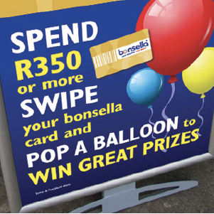 bonsella runs IN-STORE ACTIVATIONS & COMPETITIONS in your store monthly, all run and managed by our in-store marketing agents.